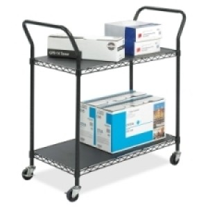 Wire Utility Cart - 2 Shelf