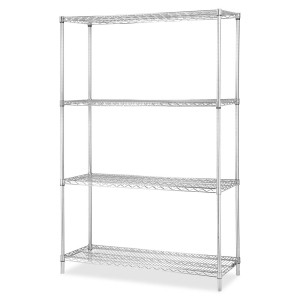 Chrome Wire Shelving Starter Kit 36inch Wide