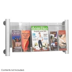 Wall Mounted Pocket & Magazine Display